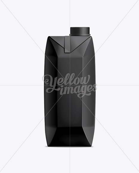 Download 330ml Juice Carton with Screw Cap Mockup Object Mockups
