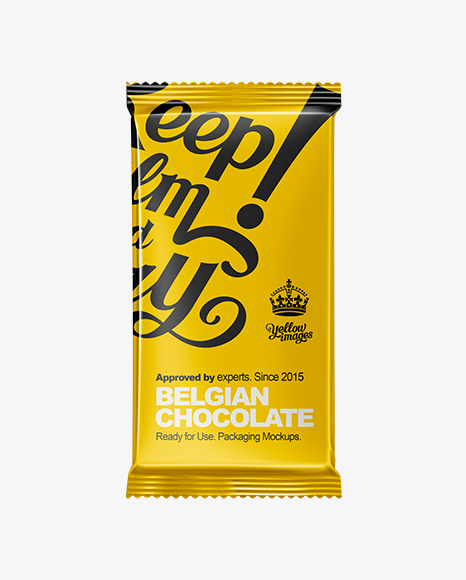 Download Chocolate Bar MockUp Object Mockups