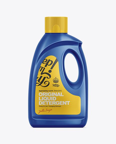 Download 2.12kg Dishwasher Detergent Bottle Mockup Object Mockups