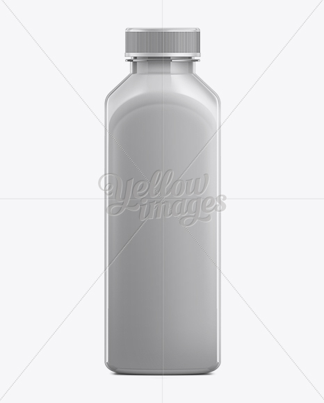 500ml Plastic Juice Bottle Mockup In Bottle Mockups On