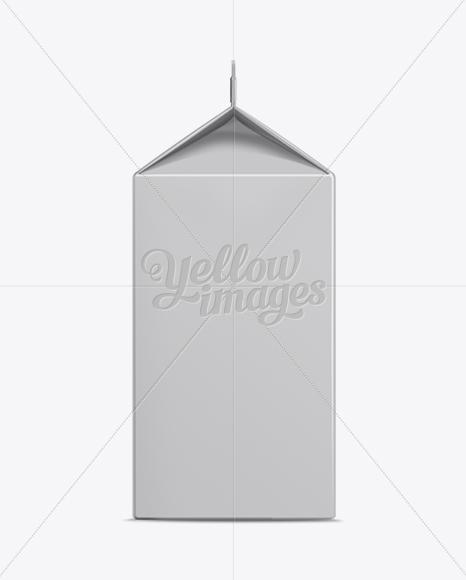 Download 700ml Milk Carton Box Mockup Object Mockups