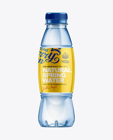 500ml plastic water bottle mockup in bottle mockups on for Decor 500ml bottle