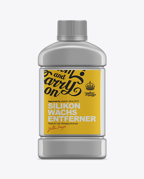 Download 250ml Silicone Remover Bottle Mockup Object Mockups