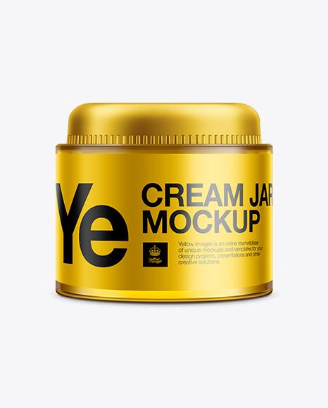 Download Body Cream Jar Mock-up Object Mockups