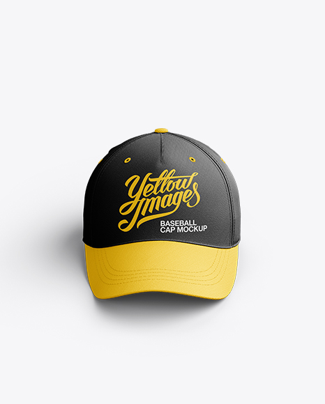 Download Baseball Cap Mockup / Front View Object Mockups