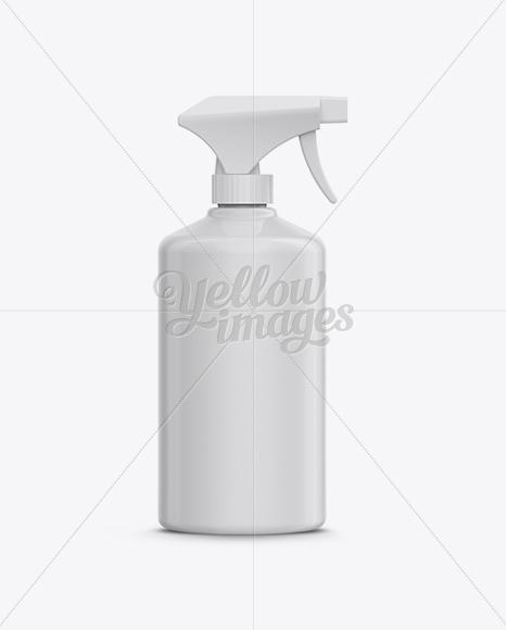 Download Trigger Spray Bottle Mockup in Bottle Mockups on Yellow ... Free Mockups