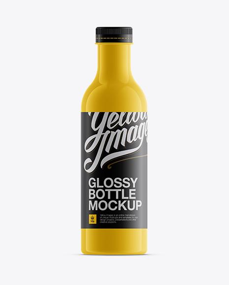 Download Glossy Juice Bottle Mockup Object Mockups