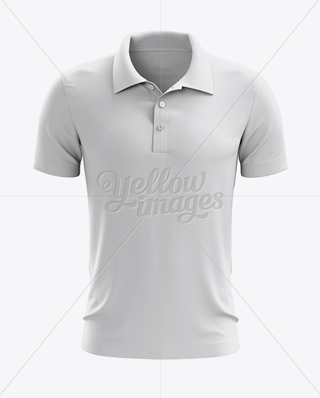 Soccer polo t shirt mockup front view in apparel mockups for Free polo shirt mockup
