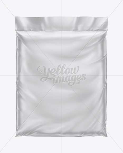 Plastic Bag W/ Organic Soil Mockup (32 Qt) In Bag & Sack