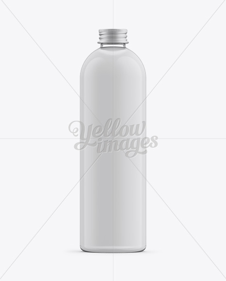 Plastic Cleaner Bottle Mockup In Bottle Mockups On Yellow