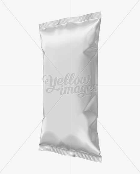 Plastic Snack Package Mockup