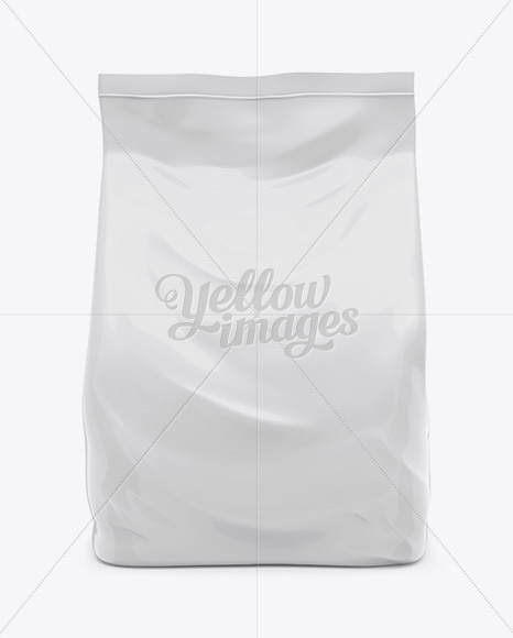 Plastic Soap Powder Bag Mockup In Bag & Sack Mockups On