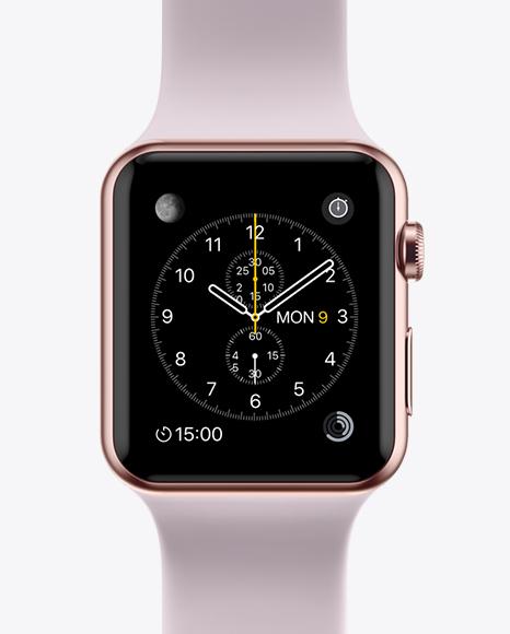 Download Apple Watch Mockup Object Mockups
