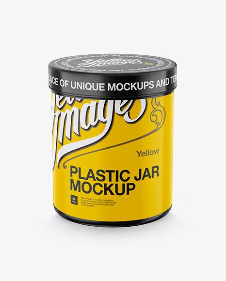 Download Cylindrical Plastic Jar Psd Mockup High Angle Shot Free Downloads 27108 Photoshop Psd Mockups PSD Mockup Templates