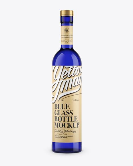 Download Download Psd Mockup Alcohol Beverages Blue Glass Bottle Drink Exclusive Mockup Glass Label Liquor Martini Mockup PSD Mockup Templates