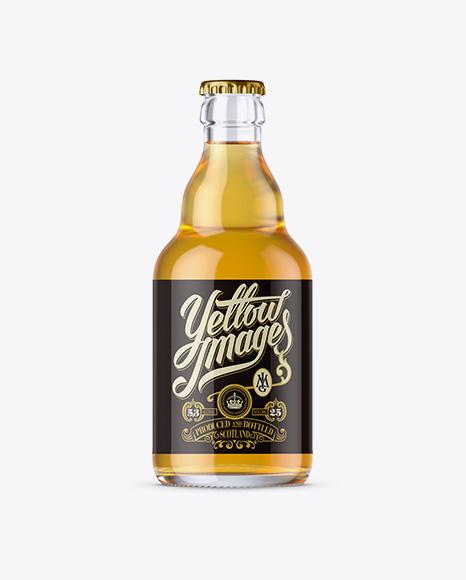 Download Download Psd Mockup 330ml Beer Beer Bottle Beverages Bottle Cider Clear Glass Drink Exclusive Mockup Glass Yellowimages Mockups