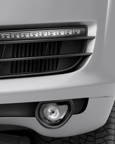 Audi Q7 Mockup - Front View