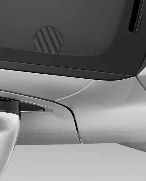 Audi Q7 Mockup - Top View