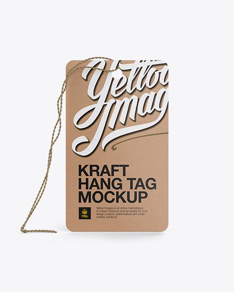 Download Kraft Hang Tag Mockup Front Back Views Object Mockups 25 Mockup Psd Gratis Terbaik