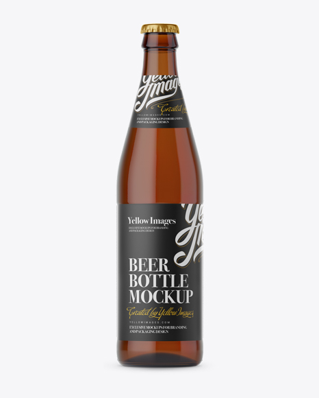 best cheap e9821 bc719 Download Amber Glass Bottle with Light Beer Mockup Object Mockups