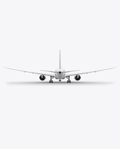 Boeing 787 Dreamliner PSD Mockup Back View 20.71MB