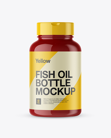 Download Glossy Plastic Fish Oil Bottle Psd Mockup Front View Psd Clothing Label Mockup Free Download Yellowimages Mockups