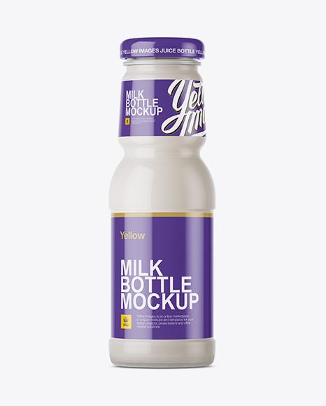 Download Milk Bottle Mockup Object Mockups