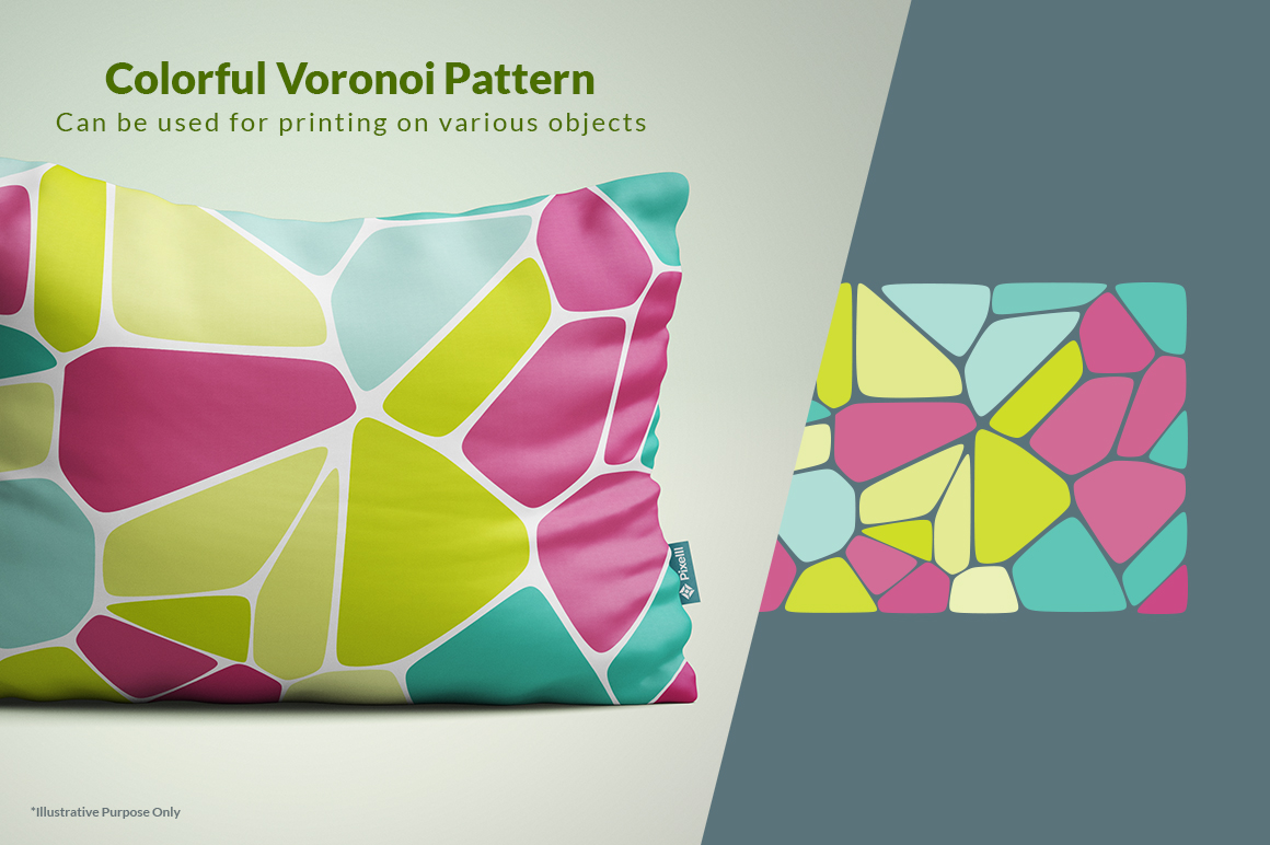 Voronoi Diagram Vector Backgrounds In Patterns On Yellow Images Generator Id 17829 3 0