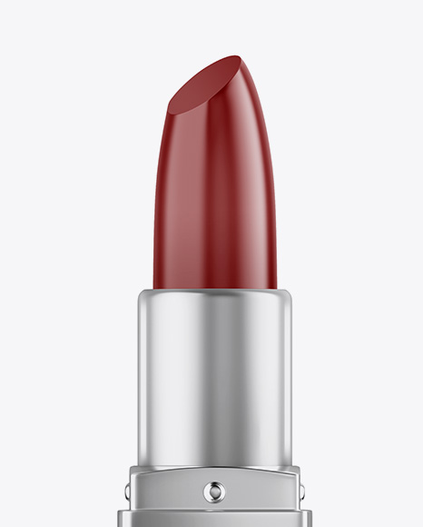 Opened Matte Square Lipstick Mockup