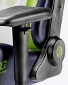 Gaming Chair Mockup - Half Side View