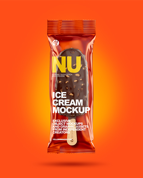 Ice Cream Bar Mockup