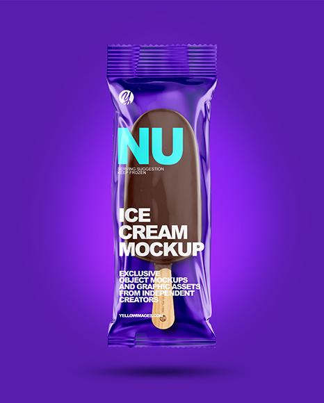 Ice Cream Bar Mockup