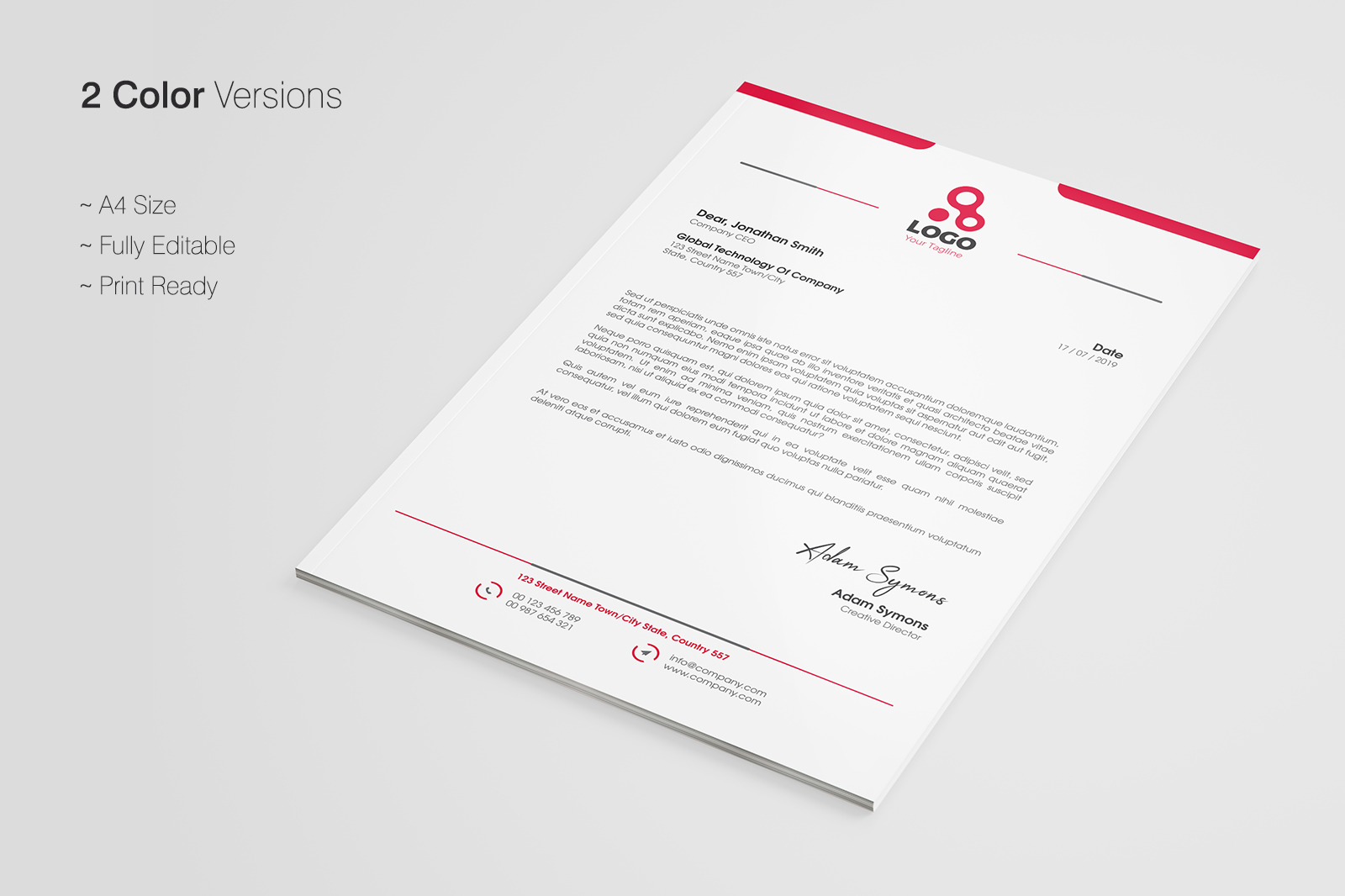 Letterhead template in corporate identity templates on yellow images id 28841 in corporate identity templates 0 0 0 spiritdancerdesigns Images