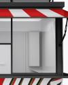 Food Kiosk Mockup