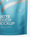 Matte Stand Up Pouch Mockup - Front View