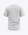 Men's Loose Fit Graphic T-Shirt - Back View