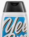 Clear Shampoo Bottle Mockup