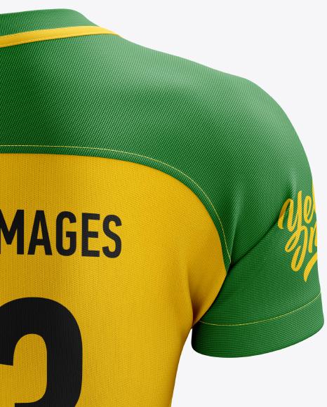 Women's Soccer Jersey mockup (Back View)