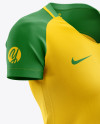 Women's Soccer Jersey mockup (Half Side View)
