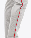 Fit Piped Baseball Pants - Side View