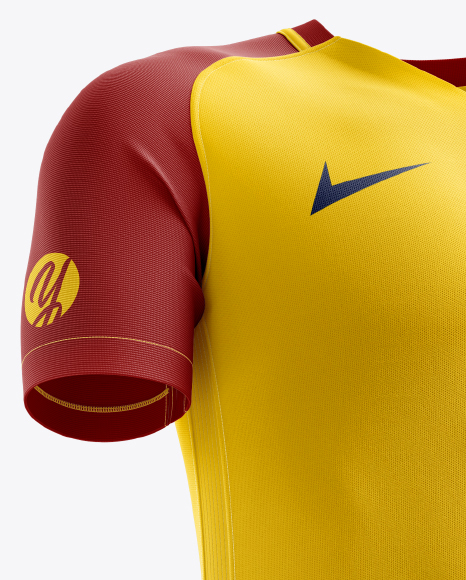 Men's Full Soccer Kit mockup (Hero Shot)