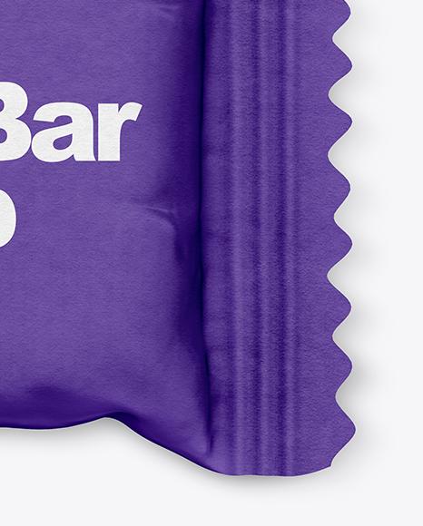 Matte Mini Snack Bar Mockup