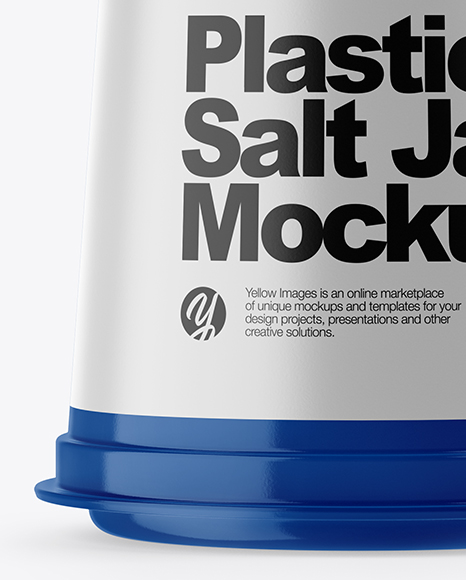 Spice Jar Mockup