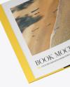 Opened Book Mockup