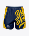 Men's Running Shorts HQ Mockup