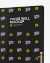Press Wall Mockup
