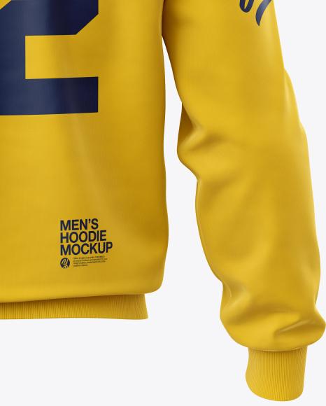 Men's Hoodie Mockup