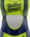 Women's Cycling Kit Mockup