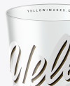 Clear Plastic Cup Mockup