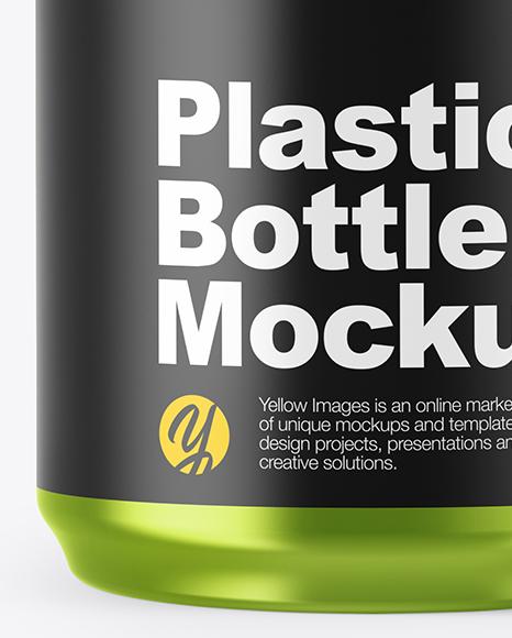 Metallized Pills Bottle Mockup